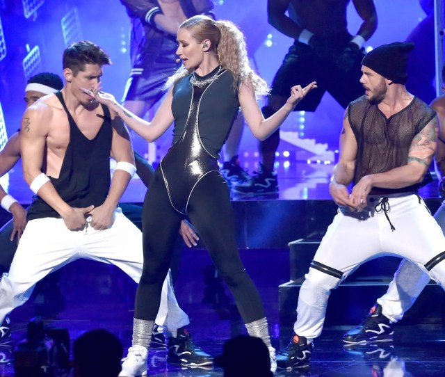 Recording Artist Iggy Azalea Performs Onstage At The