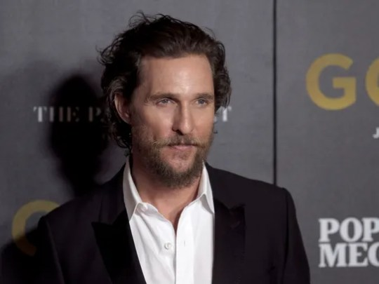 "Matthew McConaughey attends the world premiere of ""Gold"""