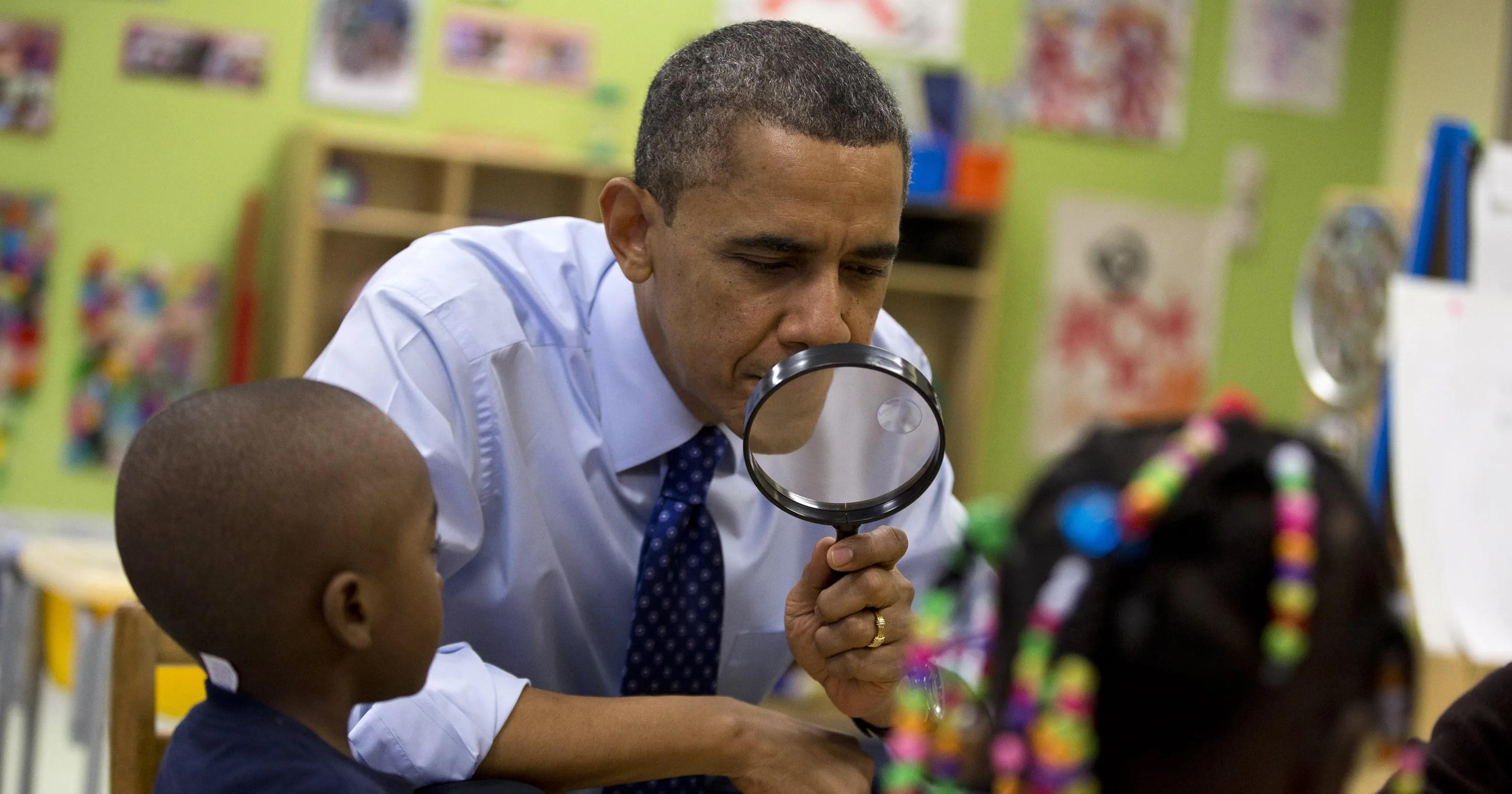 Obama Promotes Preschool Education In Georgia Visit