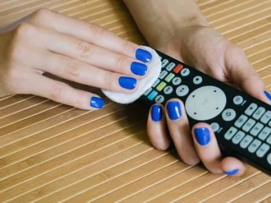 Your remote is also crawling with scary bacteria.