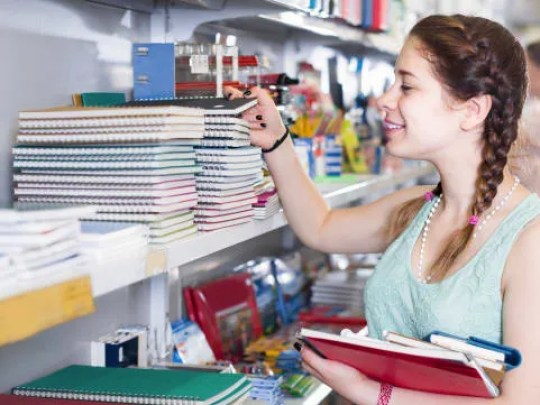 Back-to-school sales usually tick up in August.