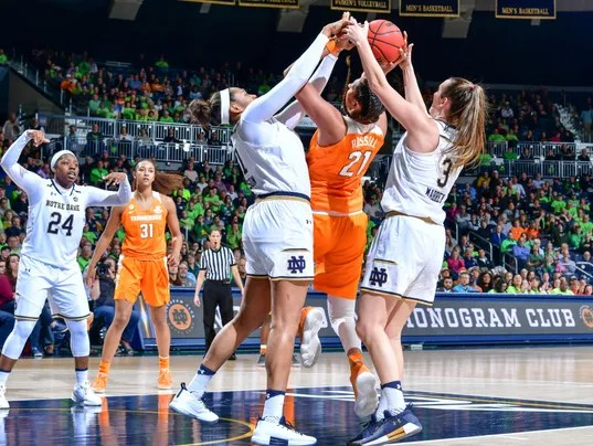 UT Lady Vols suffer more for loss at Notre Dame