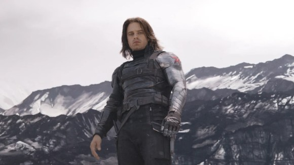 """The Winter Soldier (Sebastian Stan), seen here in """"Captain America: Civil War,"""" faces an unknown fate in """"Endgame."""""""