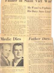 The Johnson family's story was covered by Bob Dolan