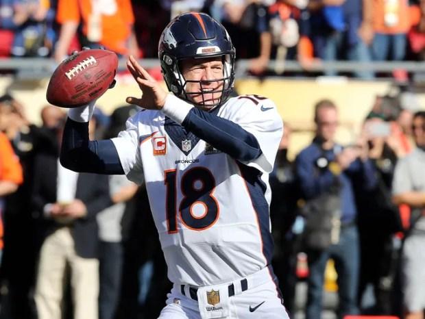 Feb 7, 2016; Santa Clara, CA, USA; Denver Broncos quarterback