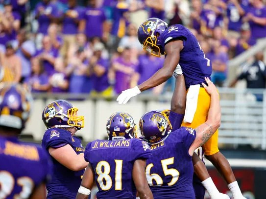 Five-way WR: How ECU's Zay Jones became the all-time ...