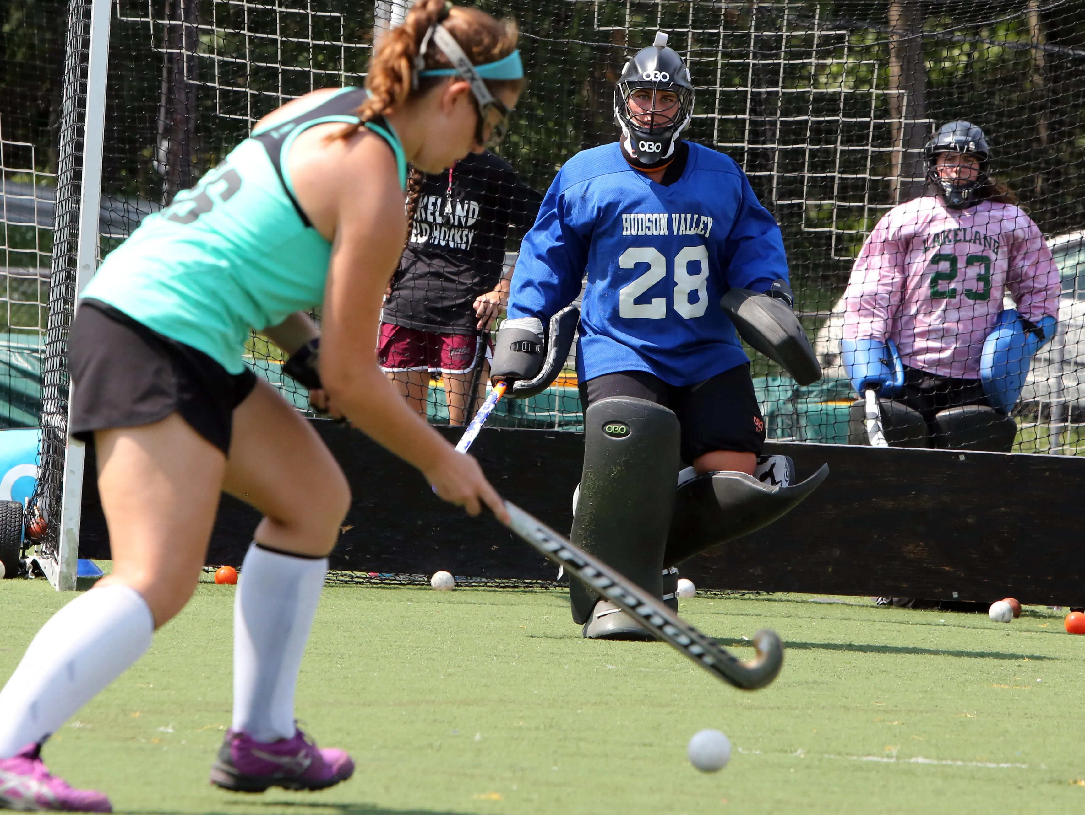 So Who Wants To Be A Field Hockey Goalie