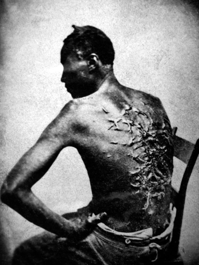 Image result for stark images of American slavery