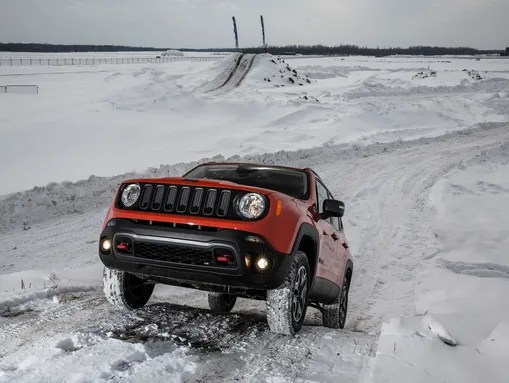 The Renegade's off-road capability is a major selling