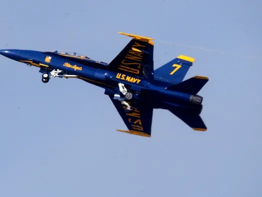 Blue Angels cancel Florida air show appearance
