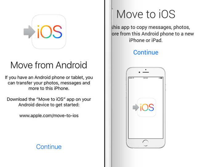 Move From Android App Png