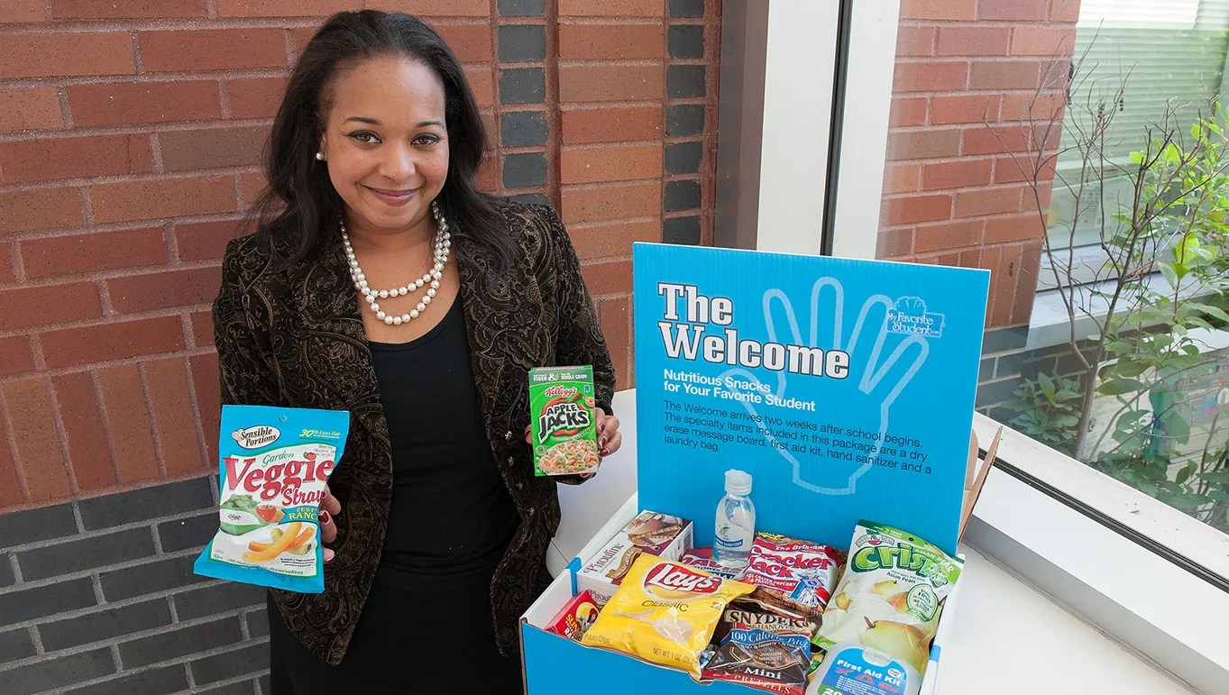 Companies, and parents, send college care packages
