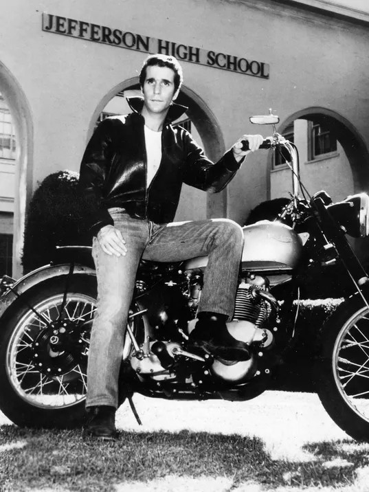 Fonzie Happy Days Character