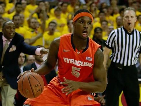 Syracuse forward C.J. Fair