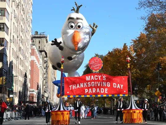 Macy's Thanksgiving Day Parade: Floats, bands and tight ...