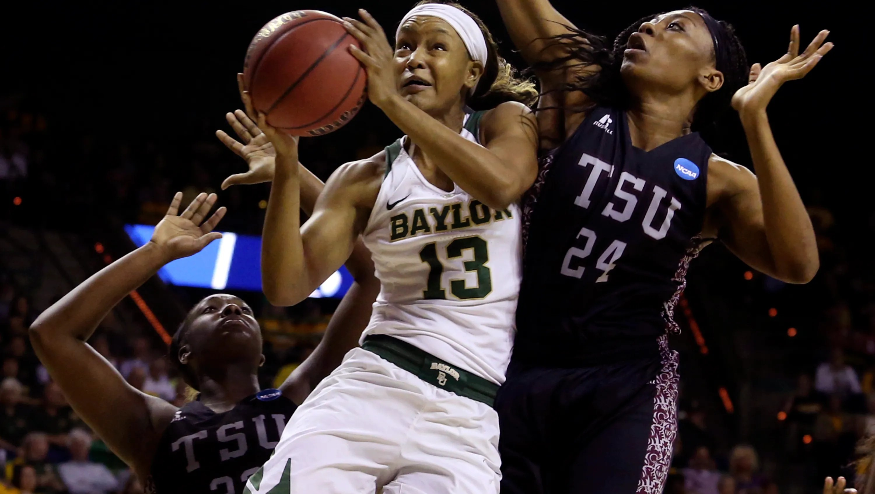 Baylor sets NCAA tournament record with 89-point defeat of ...