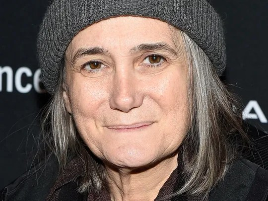 Broadcaster Amy Goodman attends the New Climate Lunch