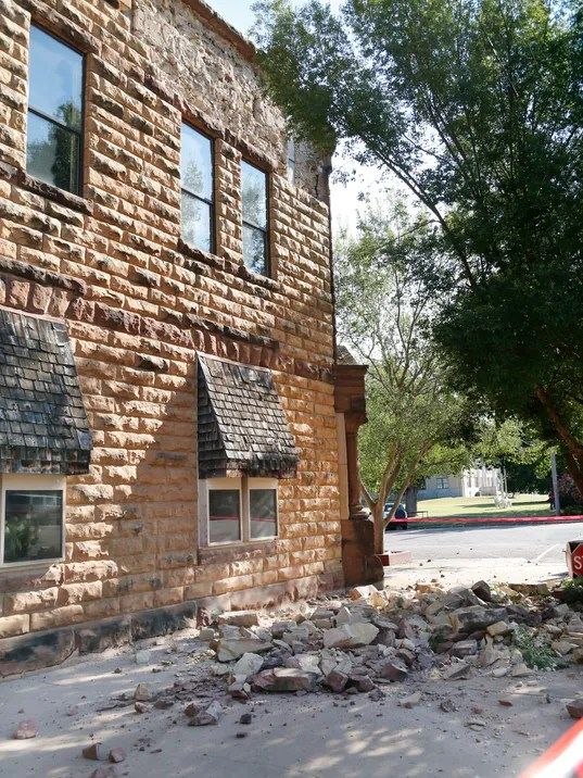 Oklahoma quake