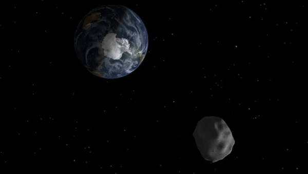 Huge asteroid to zip 'near' Earth on Wednesday