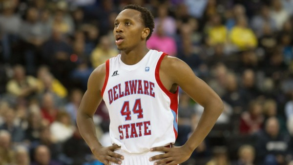 Delaware State upsets top-seeded North Carolina Central