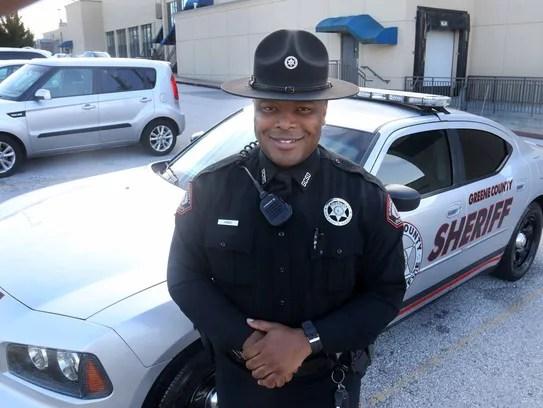 Greene County deputy sheriff Juan Jones.