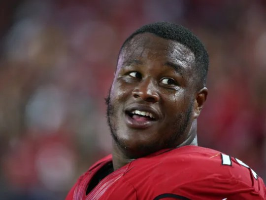 Tackle D.J. Humphries didn't play a game for the Cardinals
