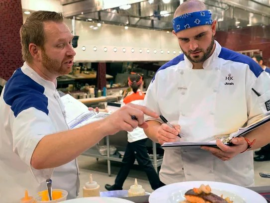Josh Trovato on FOX's Hell's Kitchen All-Stars with Gordon ...