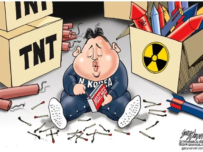 Nuke President Cartoon S Political