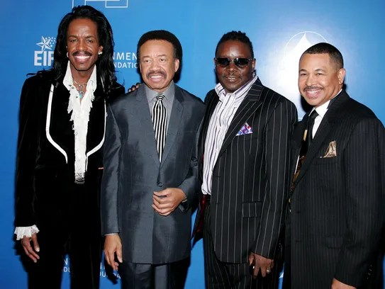 Verdine White, Maurice White, Philip Bailey and Ralph