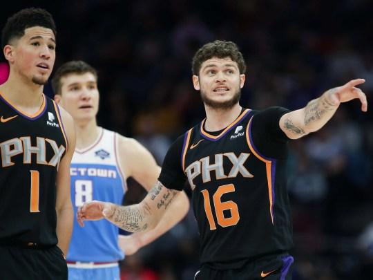 Feb 10, 2019; Sacramento, CA, USA; Phoenix Suns guard