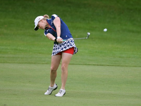 Madison Pressel, shown here at Brook-Lea Country Club in 2015, says the new rules for dress code on the LPGA Tour are fine with her.