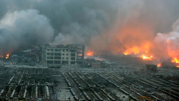 12 firefighters among at least 50 dead in Chinese port ...