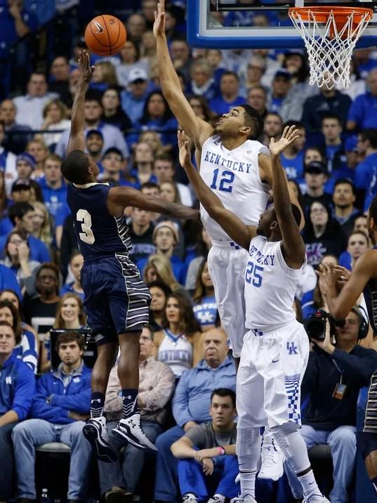 At a glance   Wednesday's Kentucky basketball game vs ...