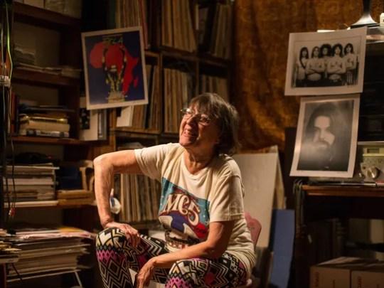 Photographer and political activist Leni Sinclair,