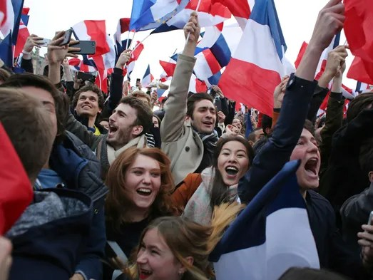 French election: Emmanuel Macron is France's new president.