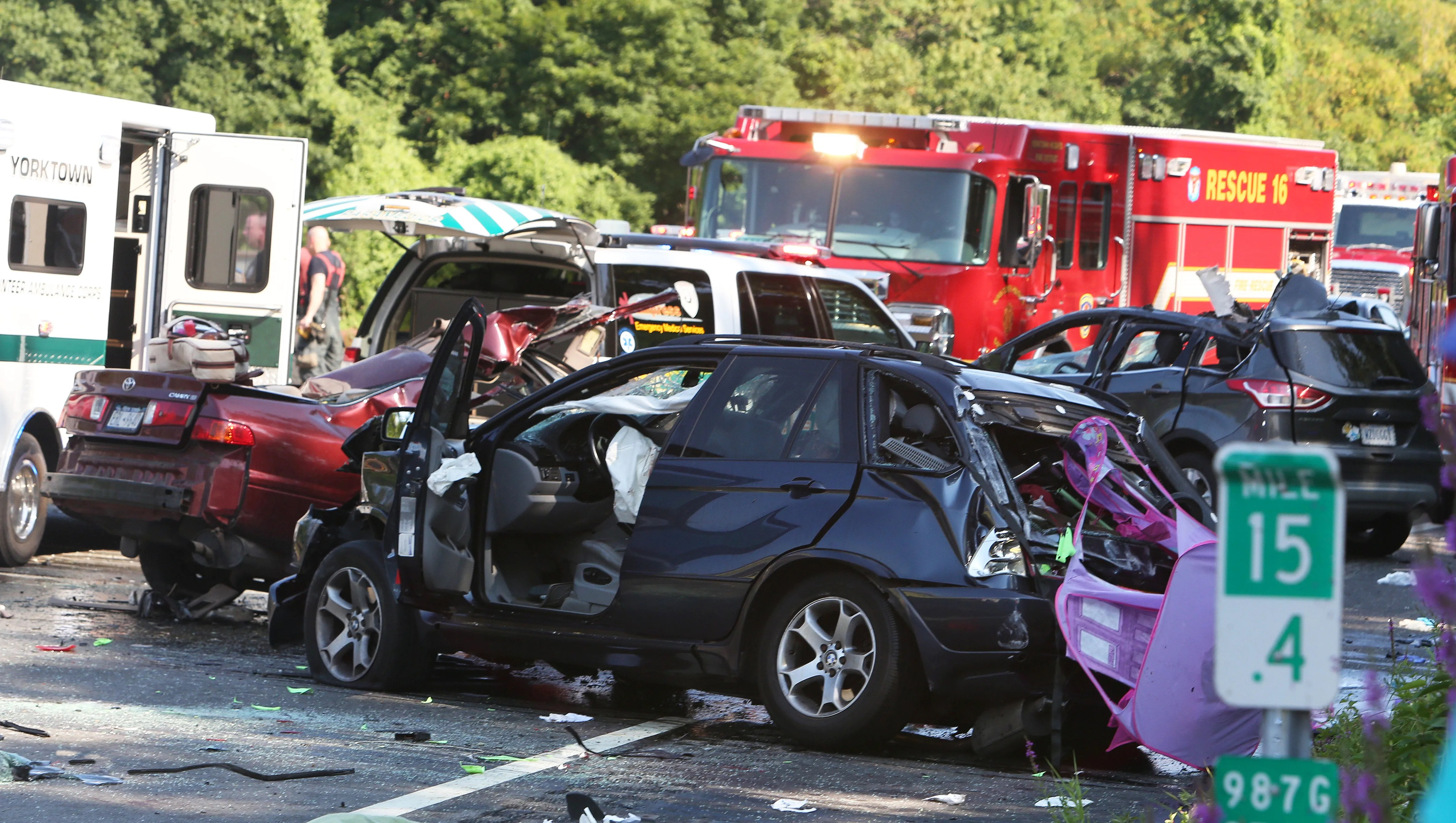 Driver charged in Taconic crash that killed 4