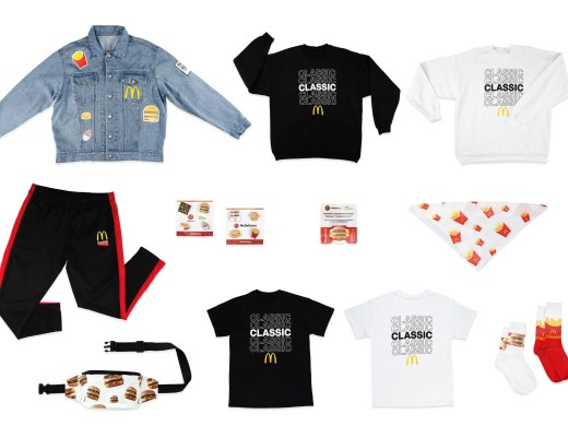 McDonald's is offering '90s-themed swag through a July