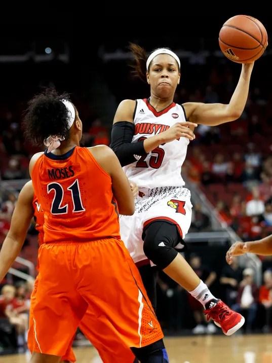 Louisville basketball | Asia Durr, Myisha Hines-Allen ...