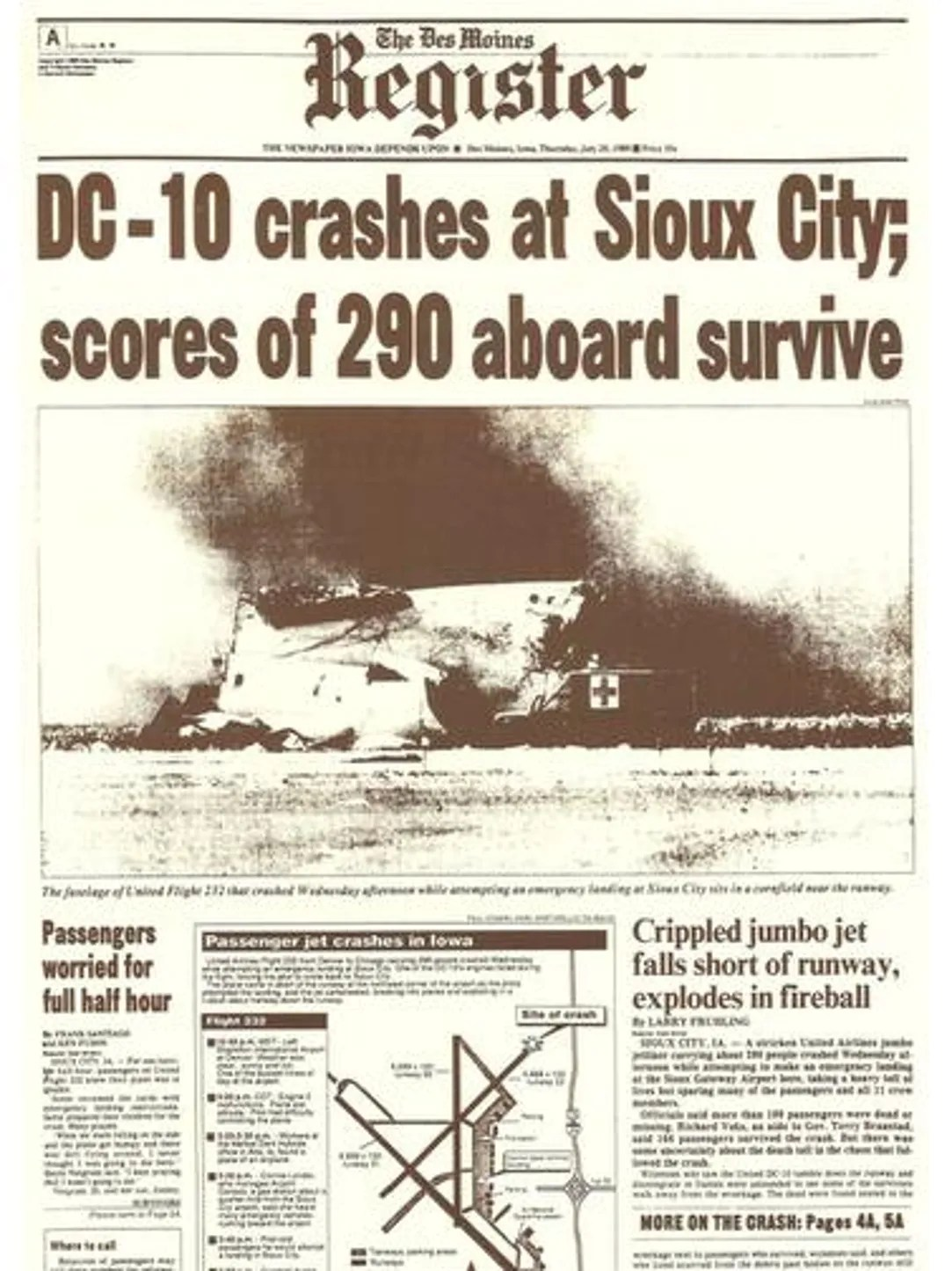 Image result for dc 10 crash 232