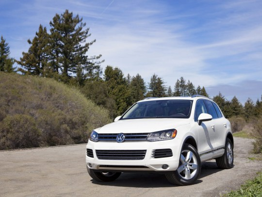 Volkswagen Touareg. This is a once-popular SUV, but
