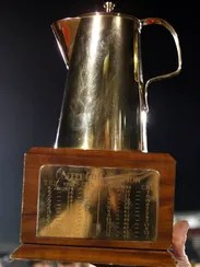 The Coffee Pot Trophy has been awarded for the winner