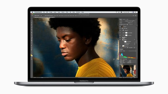 MacBook Pro screen features True Tone display technology