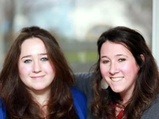 Katrina and Sheilah Randall