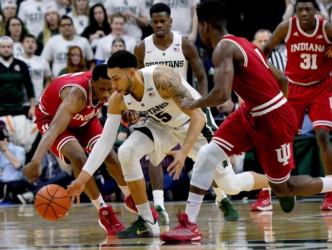 Photos Spartans Rout Indiana 88 69