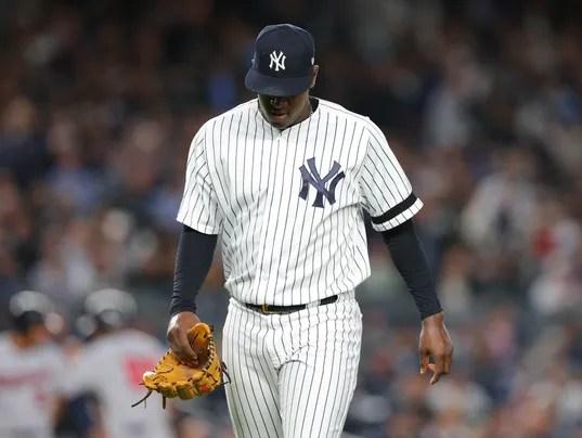 USP MLB: AL WILDCARD-MINNESOTA TWINS AT NEW YORK Y S BBA NYY MIN USA NY