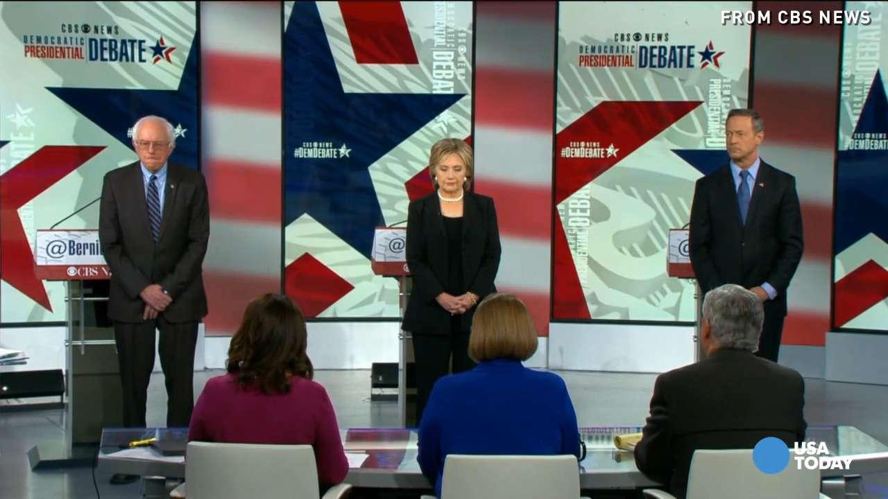 Terror, national security dominate Democratic debate