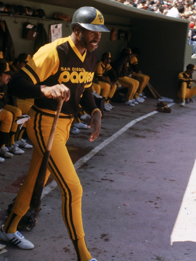 These 1978 San Diego Padres uniforms show what happens when an owner tries to outfit a team based on the colors of a fast-food joint.
