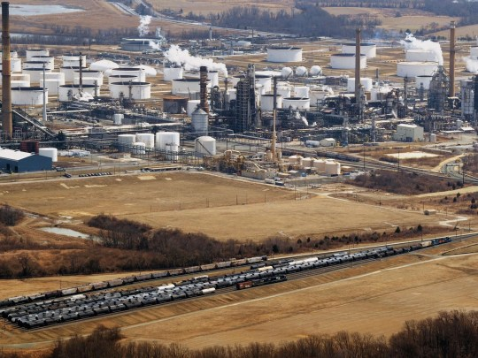 Delaware City refinery can process up to 191,000 barrels