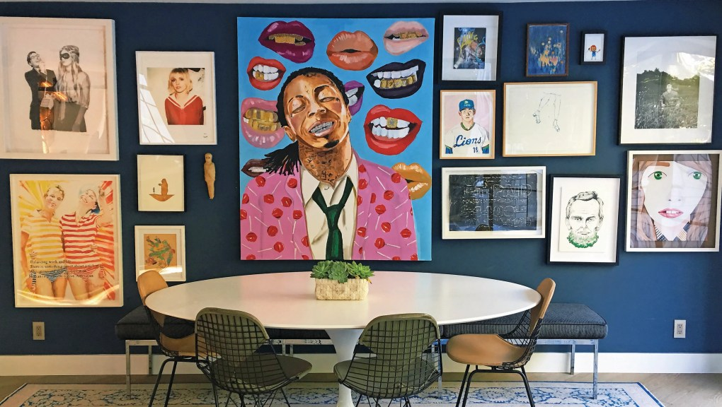 Showcase your favorite décor with artistic gallery walls