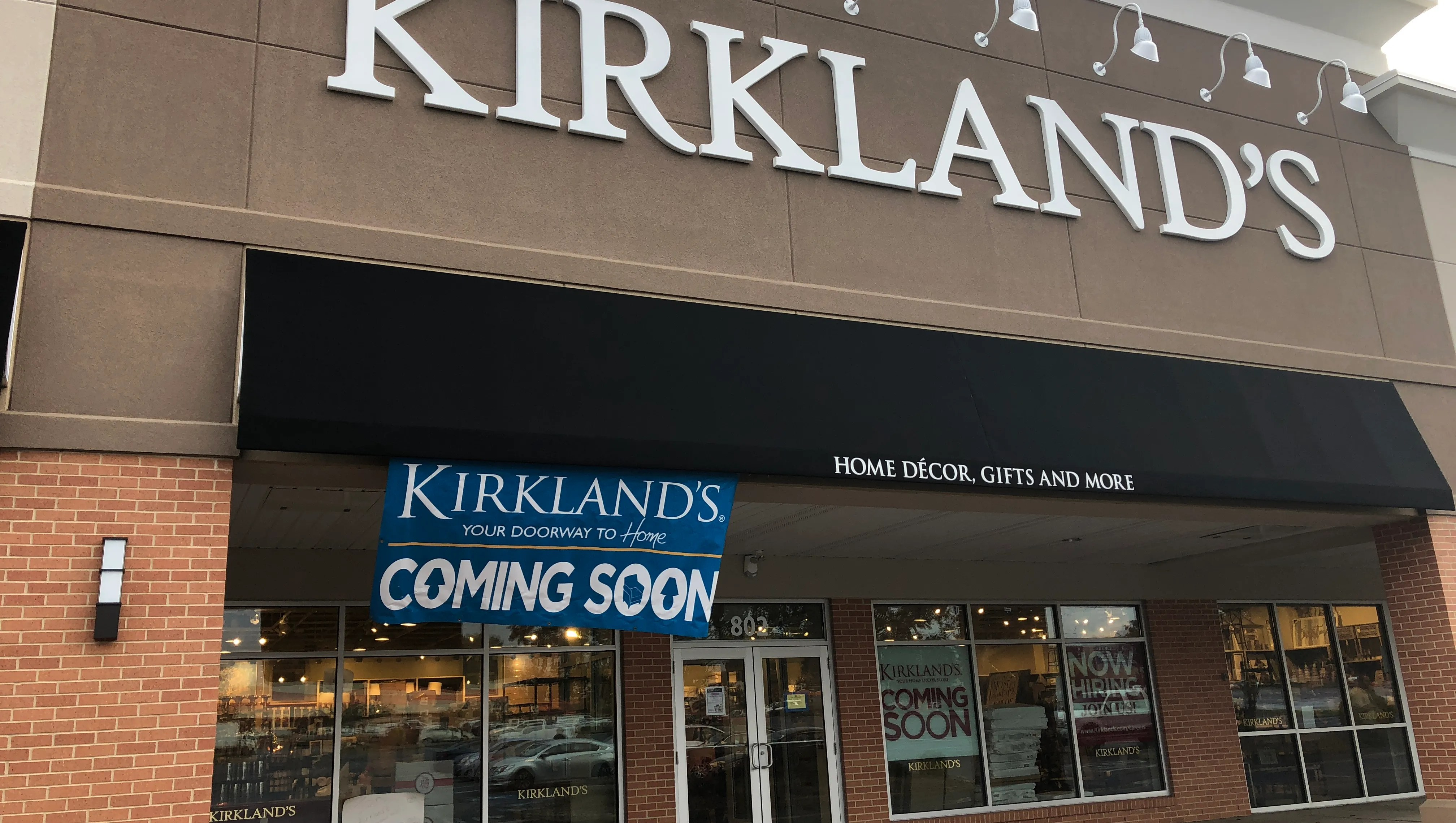Two Kirkland's home decor stores opening in Monmouth on Kirkland's Home Decor id=37207
